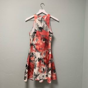 Abercrombie & Fitch Dresses - A&F Abstract Floral Print Skater Style Mini Dress